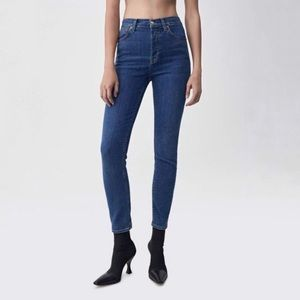 [Re/Done] NWT Ultra Stretch High Rise Ankle Crop